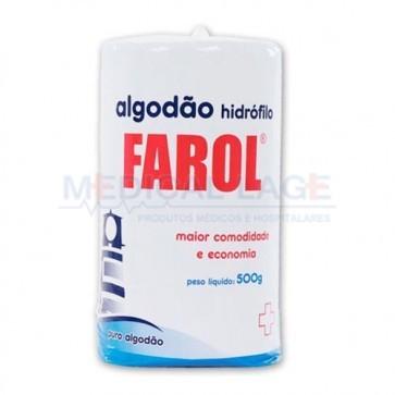 Algodao em Rolo - 500g - Farol - Unidade
