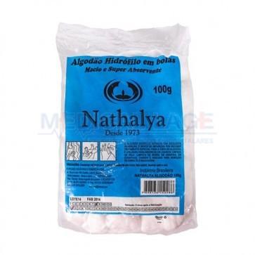 Algodao em bolas - 100gr - Nathalya - Pacote