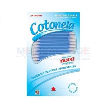 Cotonete - Cotonela - Caixa com 75 uni