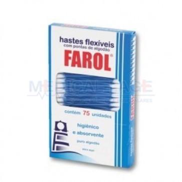 Cotonete - Farol - Caixa com 75 uni