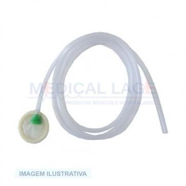 Uritex - Dispositivo para incontinência urinária tamanho Nº6 com extensao - Nao esteril - Madeitex