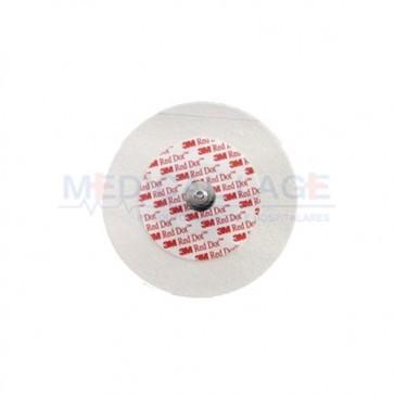 Eletrodo para ECG Infantil (Pediátrico) - 3M - Ref. 2259BR-P1 - Pct com 50