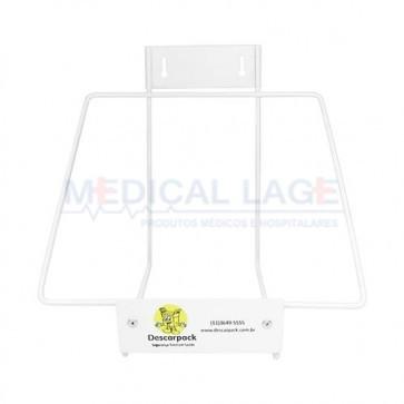 Suporte de metal para coletor perfurocortante 13L - Descarpack