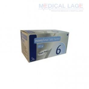 Agulha para caneta de insulina Novo Fine 0,25x6mm 32G – Novo Nordisk – Caixa com 100