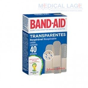 Band-Aid Respirável - Johnson & Johnson - Caixa com 40