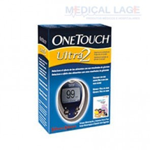 One Touch Ultra 2 Kit Monitor de Glicemia - Johnson & Johnson - Unidade