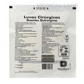 Luva Cirurgica Estéril 8,0 - Descarpack - par