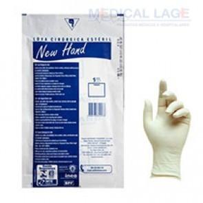 Luva Cirurgica Estéril 7,5 - New Hand Lemgrubber - Par
