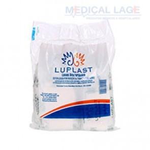 Luva Plástica Descartável Transparente Estéril - Luplast - c/ 100 Un.