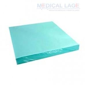 Papel Crepado cor verde - 50x50 - PolarFix