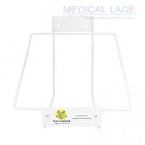Suporte de metal para coletor perfurocortante 7L - Descarpack