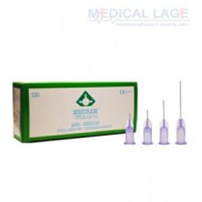 Agulha para mesoterapia 30G - 0,30 x 4mm - Mesoram - Pacote com 10 uni