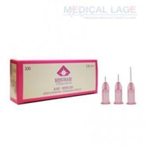Agulha para mesoterapia 32G - 0,23 x 12mm - Mesoram - Pacote com 10 uni