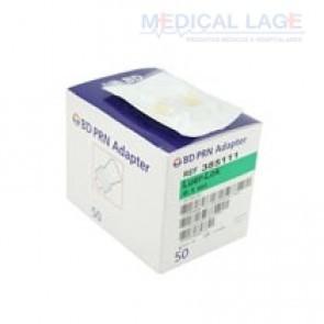Adaptador PRN (Luer Lock) Cap. 0,1ml - Ref. 385111 - BD - Caixa com 50
