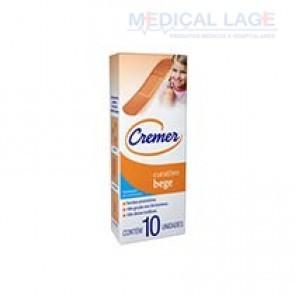 Band-Aid Respirável Bege - Cremer - Caixa com 10
