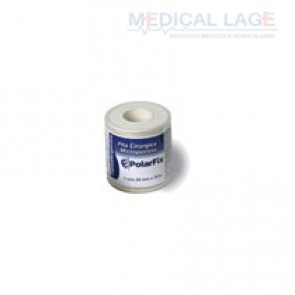 Fita Micropore - 50mmx10m - Com capa - Branca - PolarFix