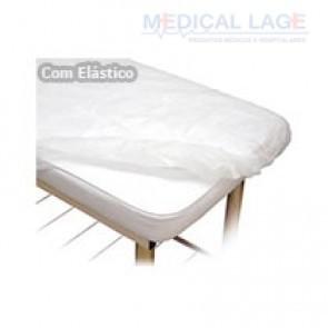 Lençol Descartavel 2,00x0,90 com elastico G20 Clean c/ 10 Un.